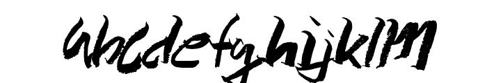 Wolvos-Medium Font LOWERCASE