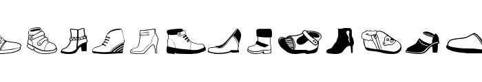Women And Shoes Font LOWERCASE