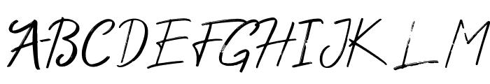 Wonder Scribble Font UPPERCASE