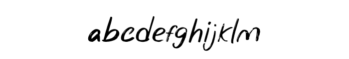 Wonder Scribble Font LOWERCASE