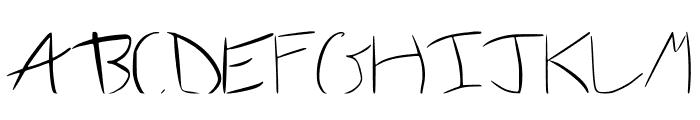 Wonder Font UPPERCASE