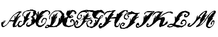 WonderInk Font UPPERCASE