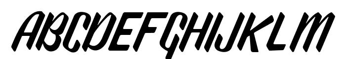 WonderStarkDEMO Font UPPERCASE