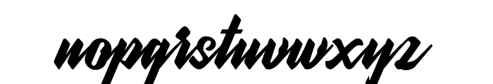 WonderStarkDEMO Font LOWERCASE