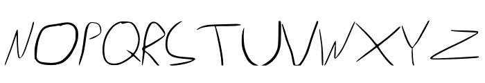 Wonder Font LOWERCASE