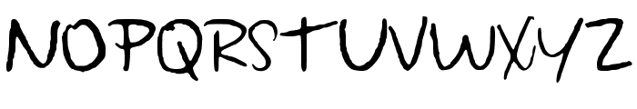 Wonderfully_Wandering Font UPPERCASE