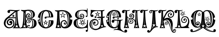 Wonderland Stars Font UPPERCASE