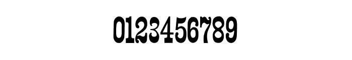 Wood Print Font OTHER CHARS