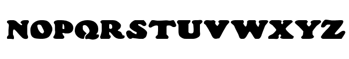 Wood Stevens Bold Font UPPERCASE