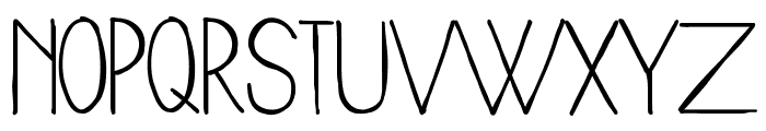 WoodCabin Font UPPERCASE