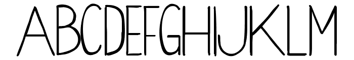 WoodCabin Font LOWERCASE