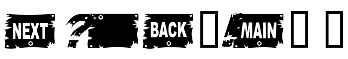 WoodCut Italic Font OTHER CHARS