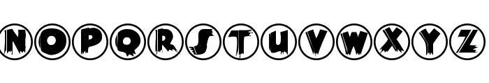 WoodPecker Font LOWERCASE