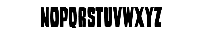 WoodStamp Font UPPERCASE
