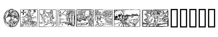 Woodcut2 Font LOWERCASE