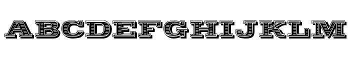 Woodcut Font LOWERCASE