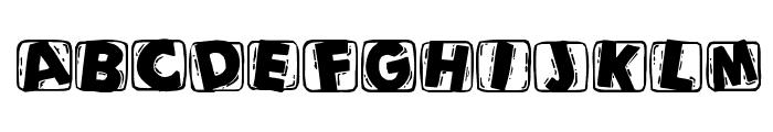 WoodcuttedCapsBlack Font UPPERCASE