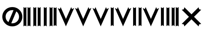 Woodcutter MMXV Font OTHER CHARS