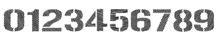 Woodcutter Optical Army Font OTHER CHARS