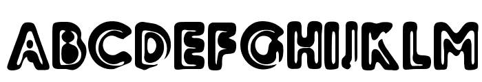 Woodcutter Relieve Font UPPERCASE