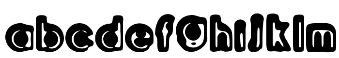 Woodcutter Relieve Font LOWERCASE