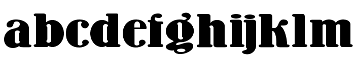 Wooden Nickel NF Font LOWERCASE