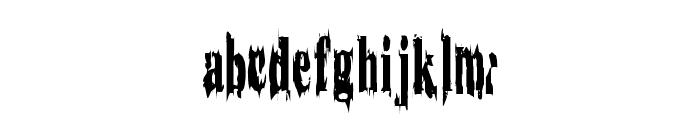 WoodenCasket Font LOWERCASE