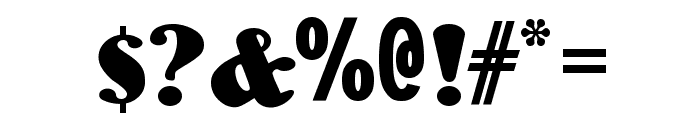 WoodenNickelBlack Font OTHER CHARS