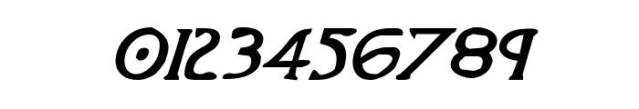Woodgod Bold Italic Font OTHER CHARS