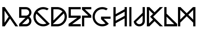 Woodwarrior-Light Font UPPERCASE