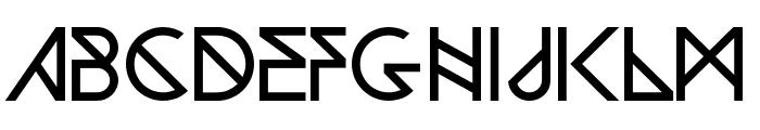 Woodwarrior-Light Font LOWERCASE