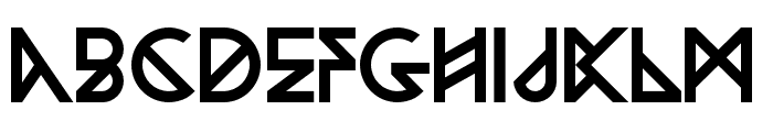 Woodwarrior-Regular Font UPPERCASE
