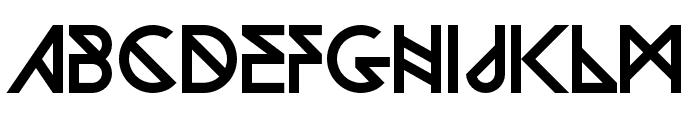 Woodwarrior-Regular Font LOWERCASE