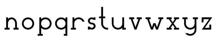 Woolacombe Font LOWERCASE