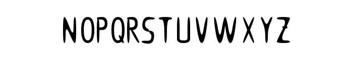 Woomble_002 Font UPPERCASE