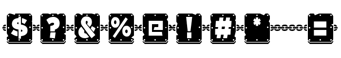 Woponi Font OTHER CHARS