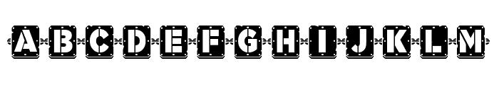 Woponi Font UPPERCASE
