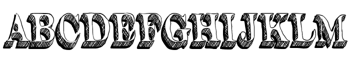 Word-Stuff Font UPPERCASE
