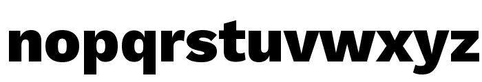 Work Sans ExtraBold Font LOWERCASE