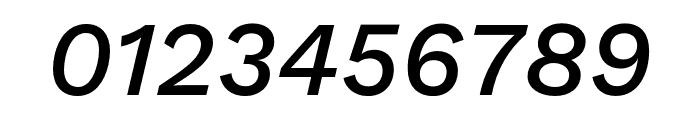 Work Sans Medium Italic Font OTHER CHARS