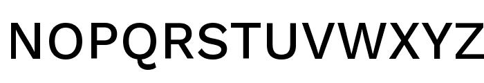 Work Sans Medium Font UPPERCASE