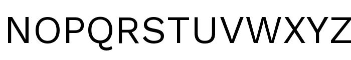 Work Sans Font UPPERCASE