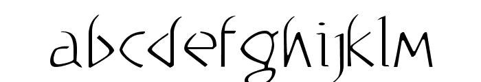 WorkShop-Light Font LOWERCASE