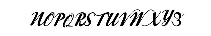 Workside Slant [Demo] Font UPPERCASE