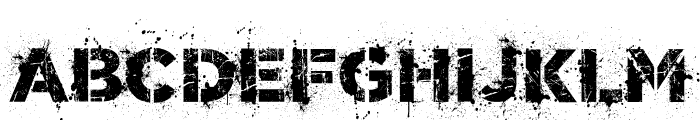 World Conflict Regular Font UPPERCASE