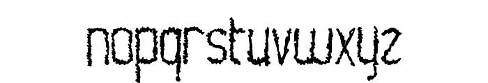 WorldShocker Font LOWERCASE