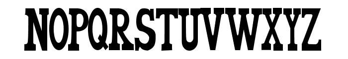 WorldsFinest Normal Font UPPERCASE