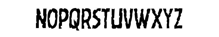 Worm Cuisine Condensed Font UPPERCASE