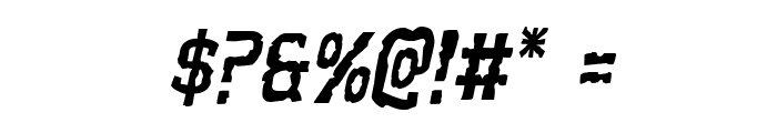 Worm Cuisine Italic Font OTHER CHARS