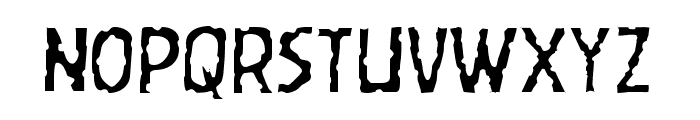 Worm Cuisine Light Font UPPERCASE